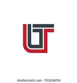 Initial Letter LT UT OT Linked Design Logo