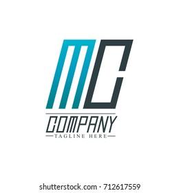 Initial Letter MC Design Logo Template