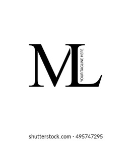 ml design Ml Logo Images, Stock Photos & Vectors | Shutterstock ml design