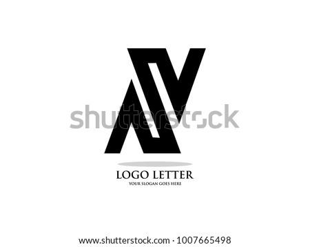 initial letter n design logo vector graphic branding letter element