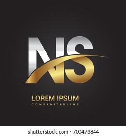 Ns Logo Images, Stock Photos & Vectors | Shutterstock
