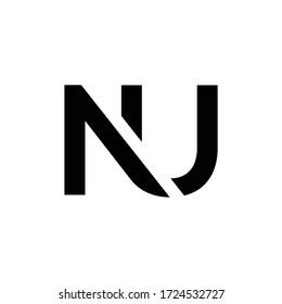 Initial Letter NU Logo Design Vector Template. Creative Abstract NU Letter Logo Design