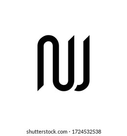 Initial Letter NW Logo Design Vector Template. Creative Abstract NW Letter Logo Design
