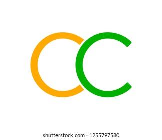 Initial Letter OC Logo Design Template