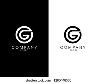 initial letter og/go logotype company name design. vector logo for business and company identity