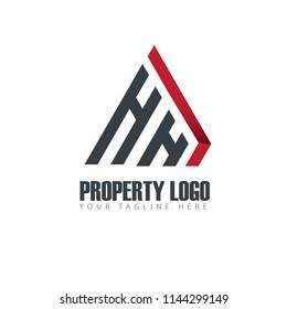 Initial Letter Property Design Logo