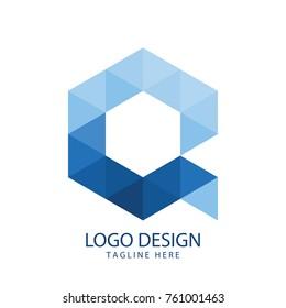 Initial Letter Q Logo Design
