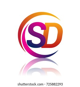 sd logo design images stock photos vectors shutterstock https www shutterstock com image vector initial letter sd logotype company name 725882293