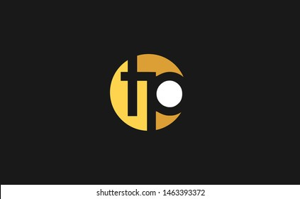 Initial letter T and P, TP, PT logo template vector design