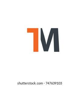 Initial Letter TM Design Logo