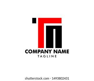 Initial Letter TM Logo Template Design