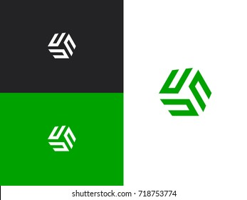 Uuu images stock photos vectors shutterstock initial letter un uuu nnn vector letter n logo the cube with urtaz Choice Image