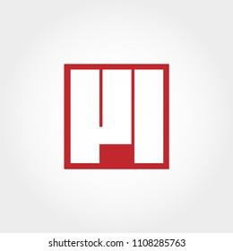 Initial Letter VL Logo Vector Design