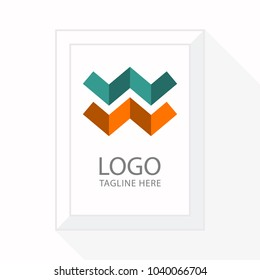 Initial Letter W logo Concept