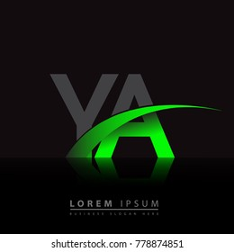 Initial Letter La Logotype Company Name Stock Vector Royalty Free