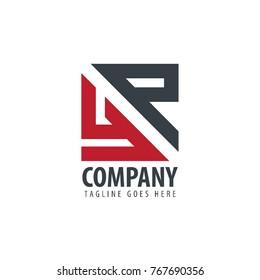 Initial Letter YP Design Logo