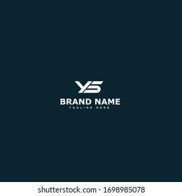 Initial Letter YS Design Logo