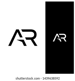 Initial lettering AR unique logo for your personal branding or for your company