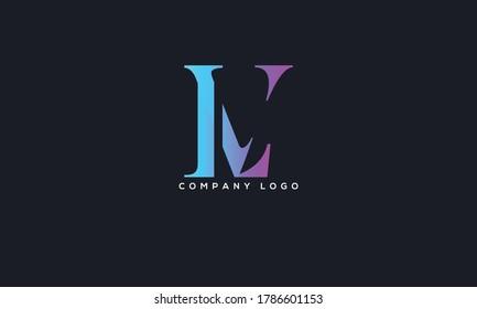 Initial Linked Letter LV Logo Design vector Template. Creative Abstract LV Logo Design Vector Illustration