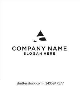 initial logo ac / ac logo