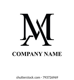 AM INITIAL LOGO DESIGN