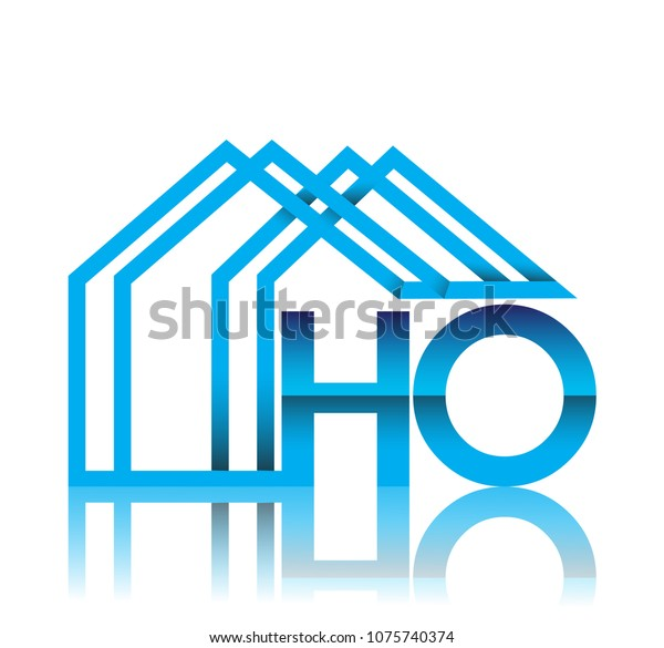Initial Logo Ho House Icon Business Stock Vector (Royalty ... on house style, house desings, house layout, house types, house print, house schematics, house cutout, house plans, house drawing, house designing, house map, house logo, house interiors, house paint, house template, house rooms, house blueprints, house color, house exterior, house diagram,