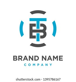 initial logo TB technology your company