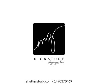 Initial MZ beauty monogram and elegant logo design, handwriting logo of initial signature, wedding, fashion, floral and botanical with creative template.