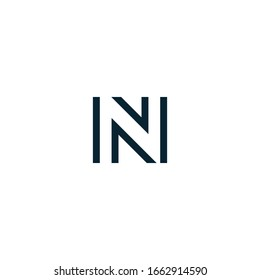 Initial N logo vector design template template. Illustration of alphabet letter N letters and creative alphabet.