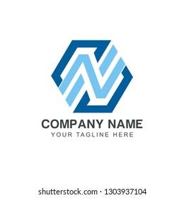 Initial NS Logo Design