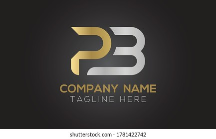 Initial PB Letter Logo With Creative Modern Business Typography Vector Template. Creative Letter PB Logo Vector.