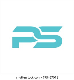 initial PS bstract logo