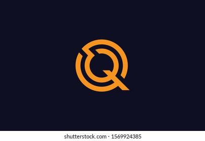 Initial Q Letter Logo Design Vector Template. Monogram and Creative Alphabet QQ Letters icon Illustration.