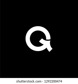 initial Q letter Q technology IT combination Q