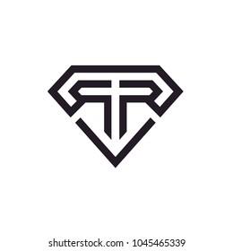 Initial R / Monogram RR logo design