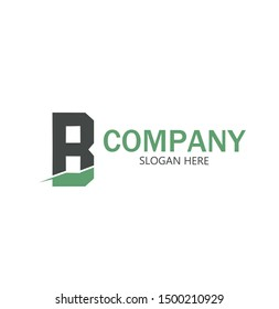 Initial RB Logo monogram design template.