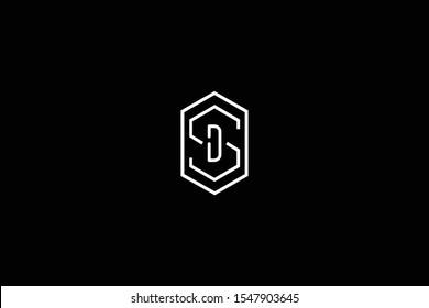 Initial SD DA Letter Logo Design Vector Template. Monogram and Creative Alphabet A D Letters icon Illustration.