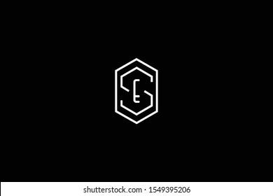 Es Monogram Images Stock Photos Vectors Shutterstock
