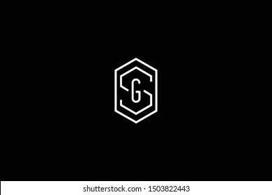 Initial SG GS Letter Logo Design Vector Template. Monogram and Creative Alphabet S G Letters icon Illustration.