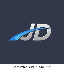 initial vector letter jd logo designs stock vector royalty free 1251347689 initial vector letter jd logo designs