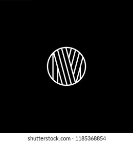 Initial White letter M MM MMM MO OM Logo Design with black Background Vector Illustration Template.