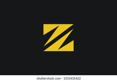 Initial Z Letter Logo Design Vector Template. Monogram and Creative Alphabet ZZ Letters icon Illustration.