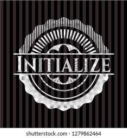 Initialize silver badge or emblem
