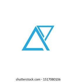initials ap in a geometric style