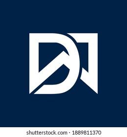 initials DW logo design for company business