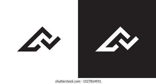 Initials FA, AF, FAL, AFL logo identity with minimalist concepts and technology