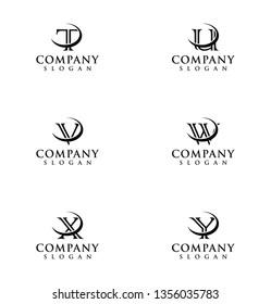 initials logo design