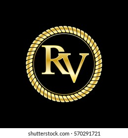Rv Logo Images, Stock Photos & Vectors | Shutterstock