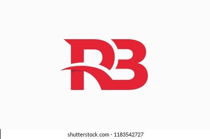 Initials RB vector logo