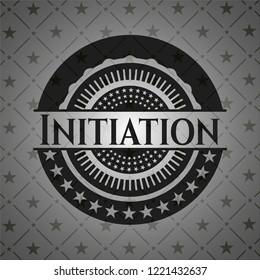 Initiation realistic dark emblem